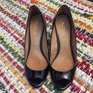 Shoes - 8.5 Aldo Peep Toe Wedge